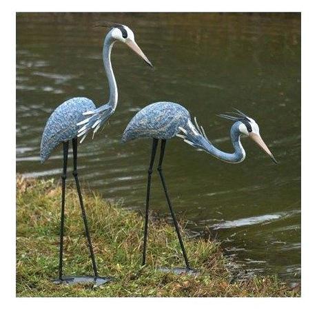crane statues garden sculptures home design furniture lady lake fl