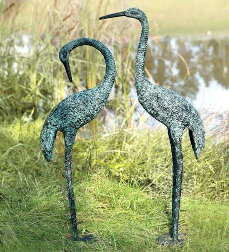 crane statues garden sculptures lumum pt wether home design app for pc