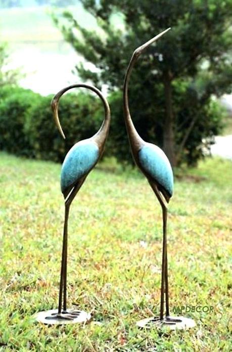 crane statues garden sculptures home design 3d gold review