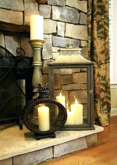 candle stand for fireplace s candle holder fireplace insert