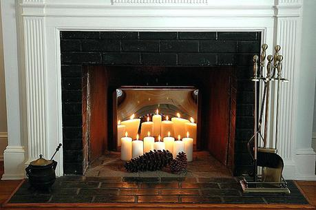 candle stand for fireplace candle holder for inside fireplace uk