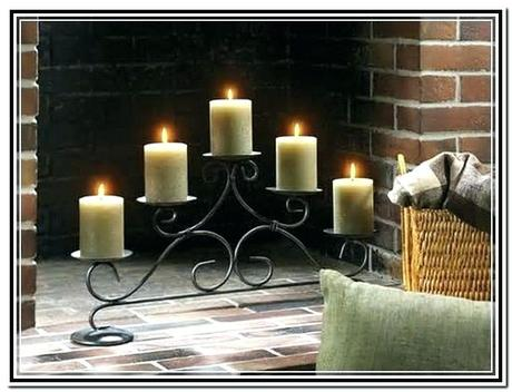 candle stand for fireplace s candle holder fireplace