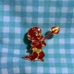 Hot Stuff pin front view