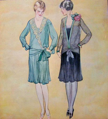 1920s fashion - dress for your silhouette