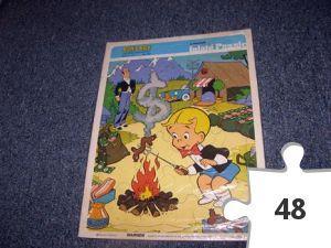 Jigsaw puzzle - Richie Rich Inlaid Puzzle
