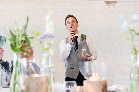Wedding speeches at East Riddesden Hall