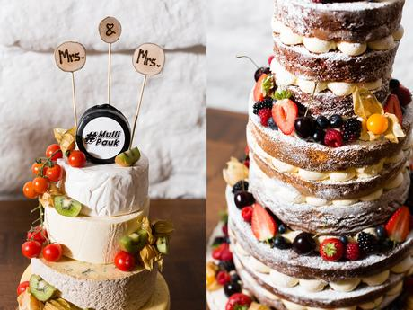 East Riddlesden Hall Wedding Photography Naked Cake