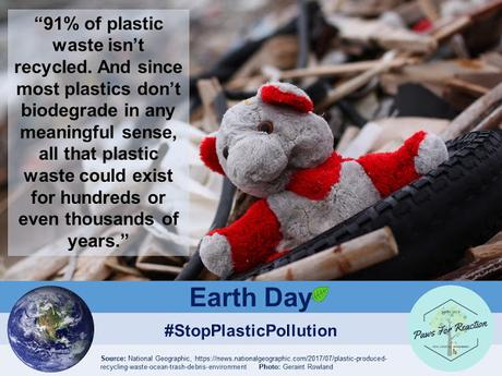 End #PlasticPollution: #EarthDay 2018 focus on people & their #plastic