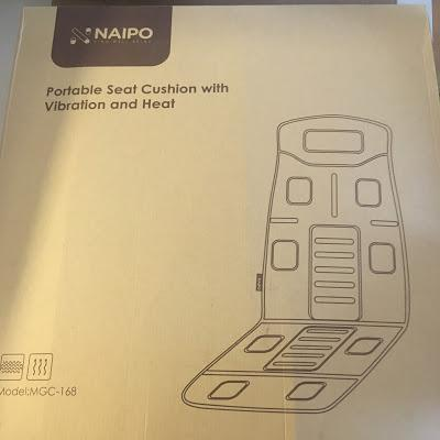 Today's Review: Naipo Portable Massager Seat Cushion