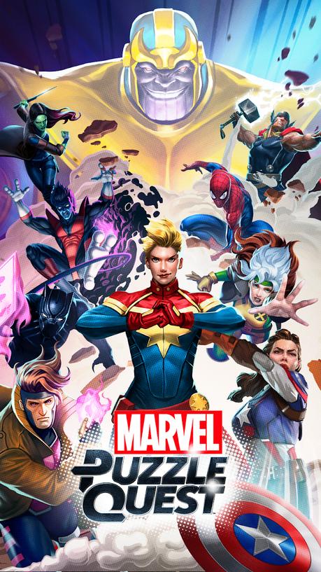Marvel Puzzle Quest | Apkplaygame.com