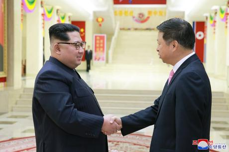 KJU Meets with Song Tao