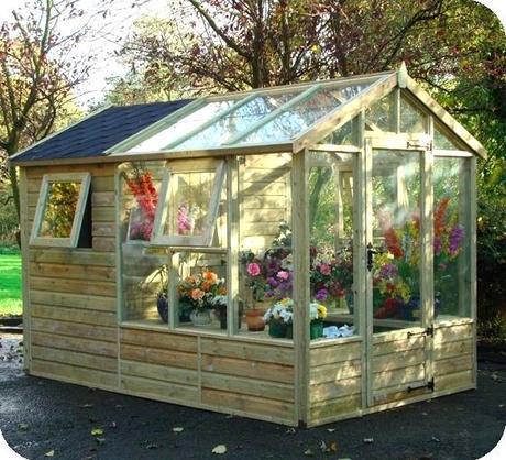 Gentil Garden Shed Greenhouse Garden Greenhouse Shed 5 X 3m