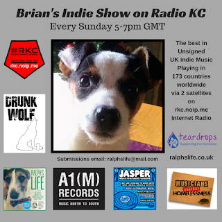 Brian's Indie Show Replay- as played on Radio KC - 15.4.18