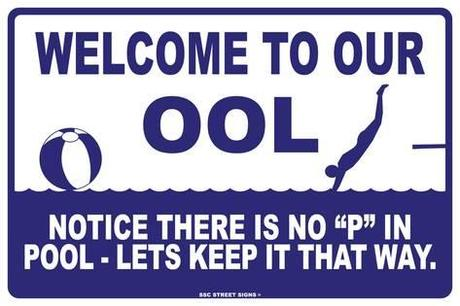 Pool Rules_No P in our ool