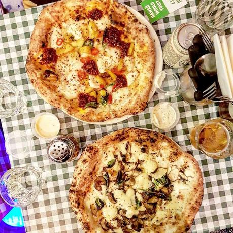 Eating Out|| Pizza Pilgrims, Exmouth Market