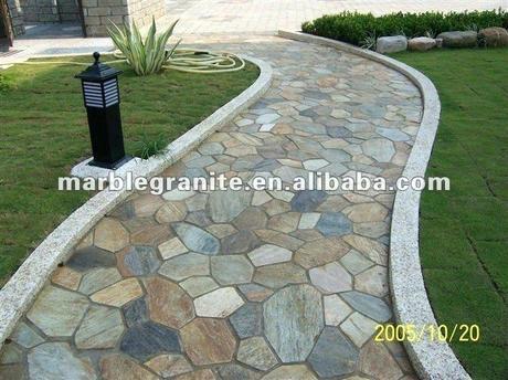 garden stone tiles natural stone garden paving