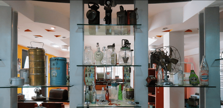 Artifacts at the Manjushree Heritage Museum of Packaging & Design