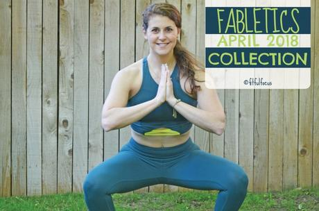 Fabletics April 2018 Collection | Cute Workout Leggings | The Jasmin | High-Waisted Statement Powerhold Legging | Shellie Midi Sports Bra| Wild Workout Wednesday | Cute Workout Gear