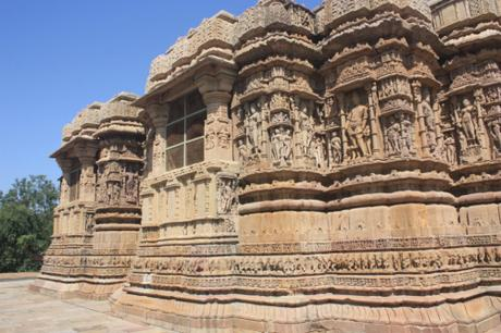 DAILY PHOTO: Two Side Views of the Sun Temple at Modhera