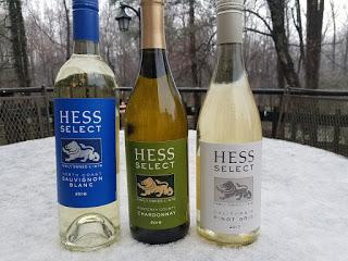 A Trio of Hess Select White Wine