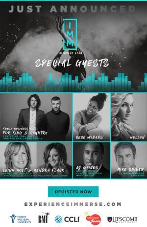 Gospel Music Association Immerse Conference June 11th-13th In Nashville