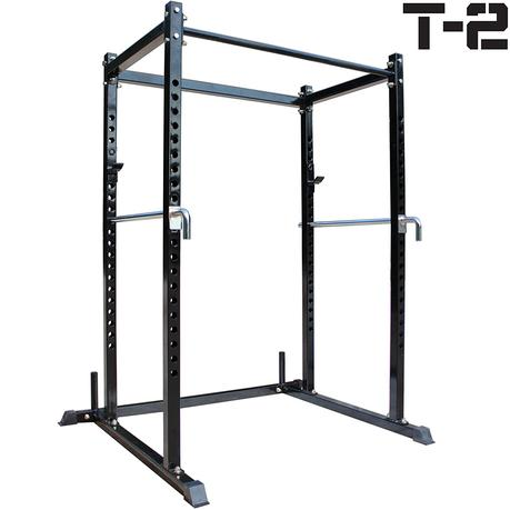 Titan T-2 Series Short Power Rack Squat