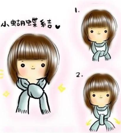 how to tie a scarf 5