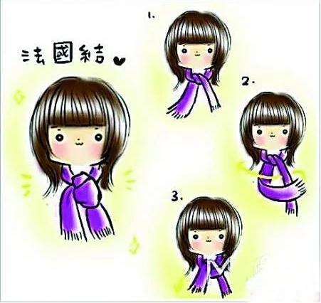 how to tie a scarf 2