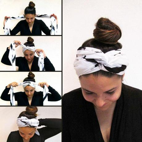 How to Tie A Head Scarf Fashionably and Easily