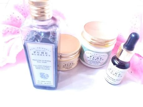 AM-PM Skin Care Routine for Dry Skin with Pure Bubbles