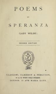 Oscar Wilde's poetic pedigree.