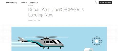 UberChopper Abu Dhbai to Dubai