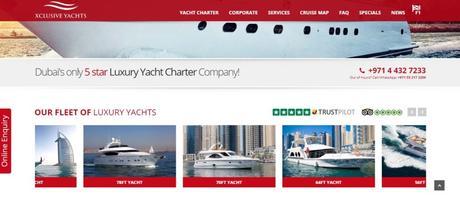 Abu Dhabi to Dubai by Yacht