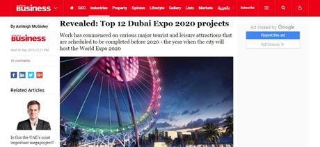 Abu Dhabi to Dubai Future Projects