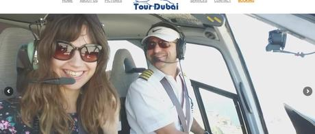 Travel from Abu Dhabi to Dubai in helicopter