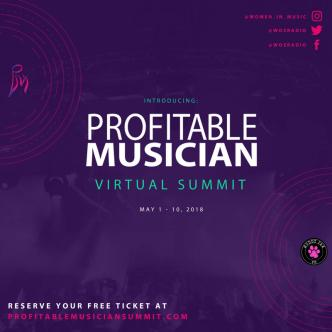 Guest Blog: Bree Noble, host of the Profitable Musician Summit