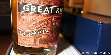 Compass Box Great King St Glasgow Blend Label