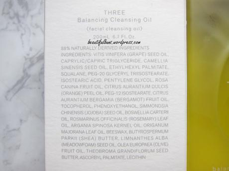 Review: Three Balancing Cleansing Oil