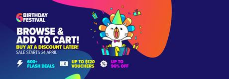 Countdown To Lazada 6th Birthday Festival With Some Exciting Deals!