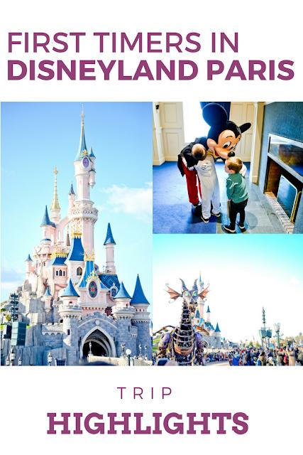 First-timers in Disneyland - Our Disneyland Paris Trip Highlights