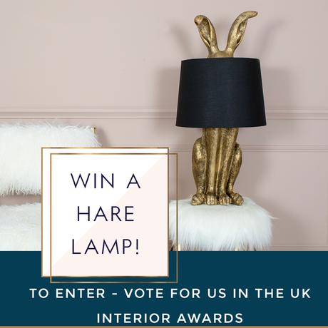 Vote For us + WIN a Lamp Worth £139.95!