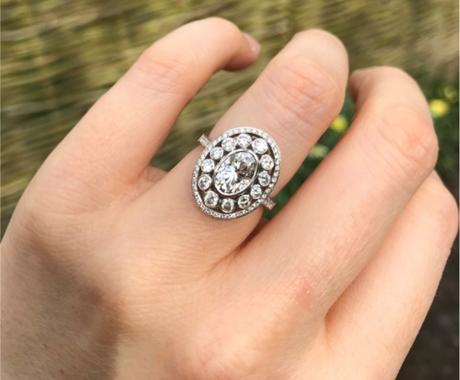 OO La La! Meely's Outstanding Engagement Ring