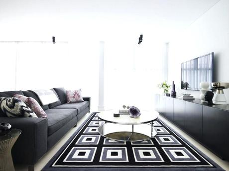 black and white living room rug black and white chevron rug living room
