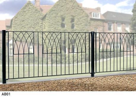 metal garden fencing metal garden fencing decorative