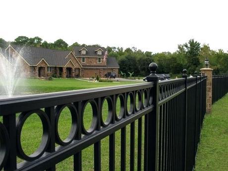 metal garden fencing metal garden fencing panels