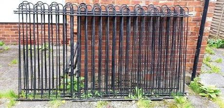 metal garden fencing metal garden fencing home depot