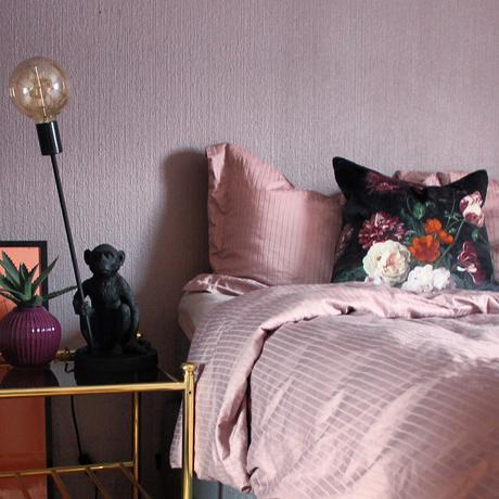 House Tour: Colourful apartment- Pink Bedroom