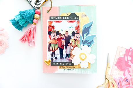 Crate Paper Design Team : Family Mini Album