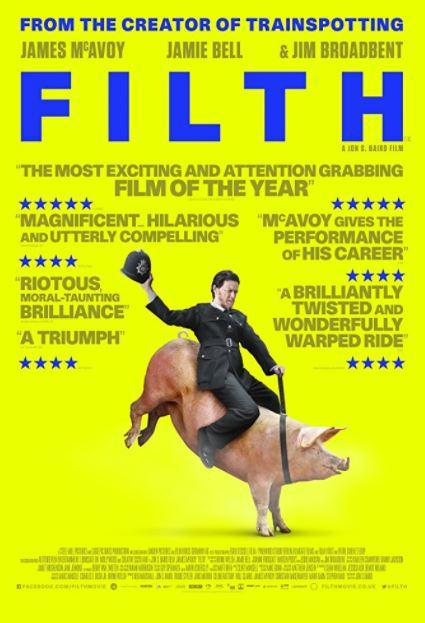 James McAvoy Weekend – Filth (2013)