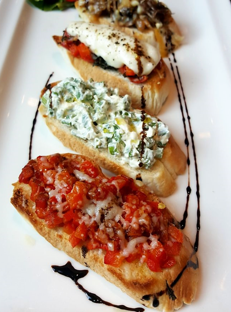 Bruschetta at WelcomCafe Jacaranda